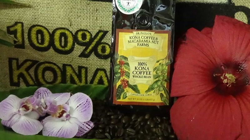 100% Kona Coffee Bean